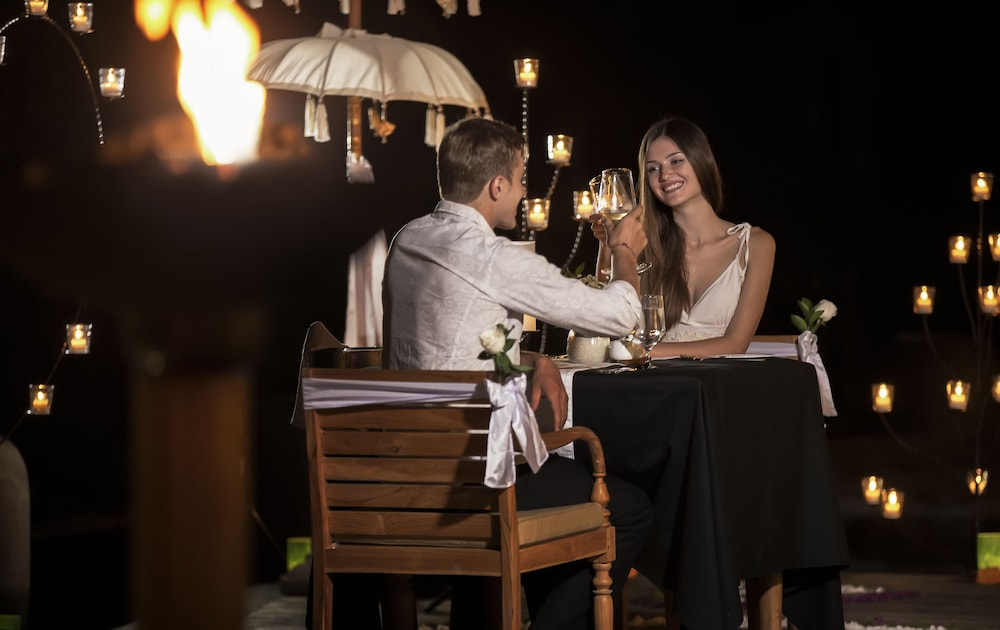 Couples Dining, The Kayon Jungle Resort by Pramana