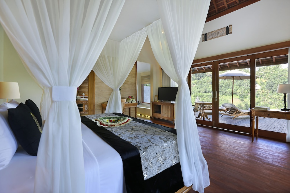 Room, The Kayon Jungle Resort by Pramana