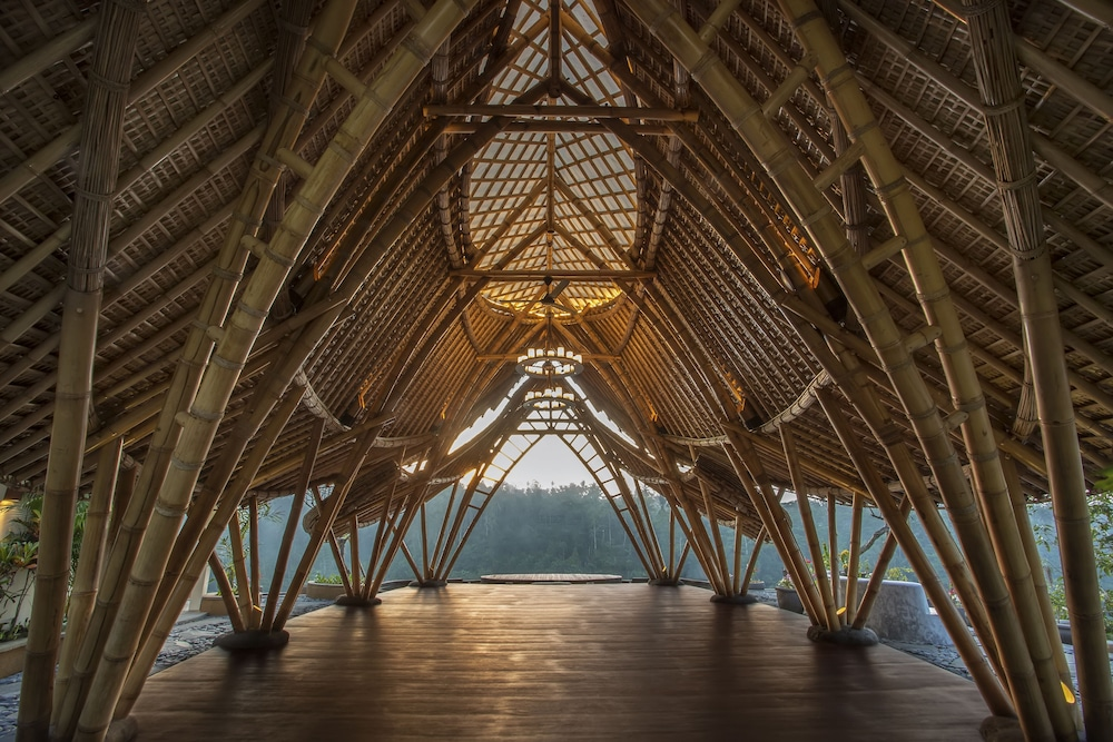 Building design, The Kayon Jungle Resort by Pramana
