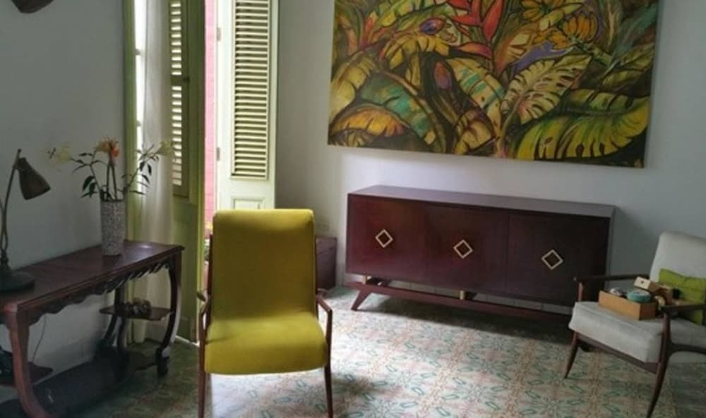 Living Area, B&b Vitrales - Heart of Old Havana - Boutique 2