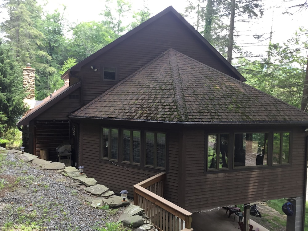 Beautiful Log Home On The Loyalsock Creek 2018 Pa River Of