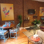 Manhattan Gem! Walk to University/apollo Theatre/rest/shop. Mins to Subway. Wifi