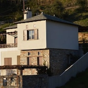 New Built Traditional Stone House With Breathtaking View Of The Sea