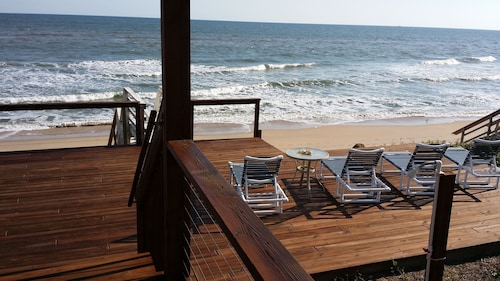 Private Beachfront Home -right on No-driving Beach-newly Remodeled-near Cape Can