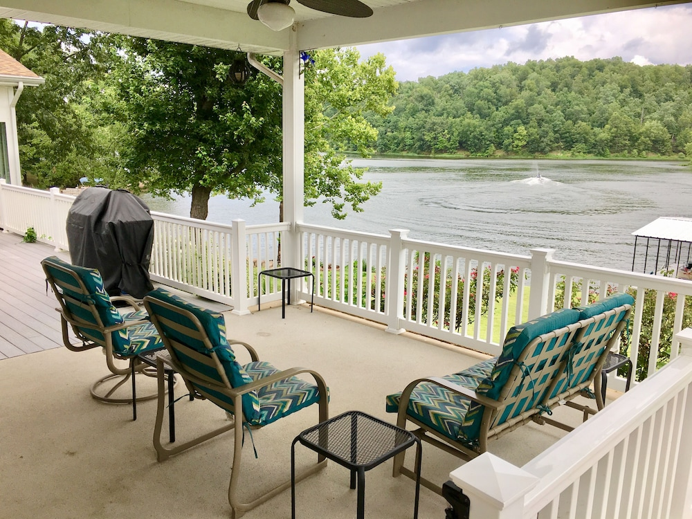 Balcony, Try a NEW View! Scenery Make Memoriesfish Sun Room Fire Pit Kayak Peace