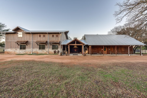 Check Expedia for Availability of A Hunter's Dream : Gorgeous Hill Country Cabin for 6 With Whitetails and Views