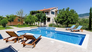Villa Buble - Charming Villa With Pool Near Trogir and 60 Meters From sea