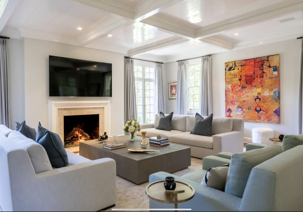Living Room, Grand Buckhead Mansion! Heated Pool, Tennis Court, Huge Lawn