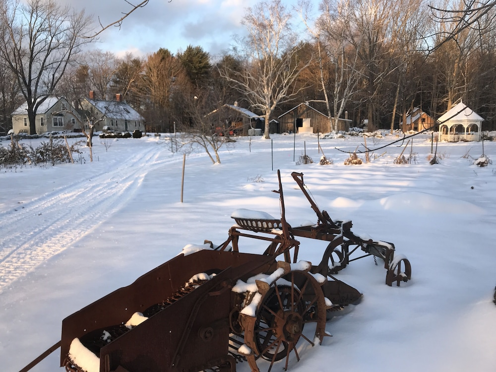 Property Grounds, Maple Moon Farm ~ Stay at a Historic Maine Farm!