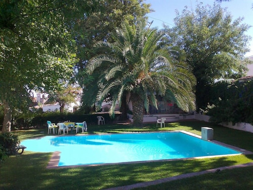Villa With 5 Bedrooms in Vila Verde de Ficalho, With Wonderful Mountain View, Private Pool, Enclosed Garden