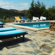 House With 2 Bedrooms in Odemira, With Wonderful Mountain View, Pool Access and Enclosed Garden - 15 km From the Beach