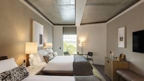1 bedroom, hypo-allergenic bedding, down duvets, pillow-top beds