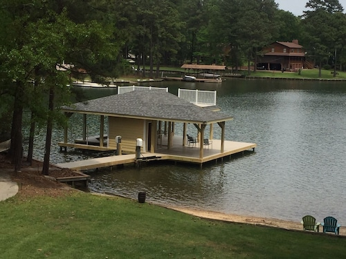 Check Expedia for Availability of Pea Hill Retreat/lake Gaston 5 Bedroom in Quiet Cove /sandy Beach/ping Pong