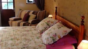 7 chambres, literie de qualité supérieure, fer et planche à repasser
