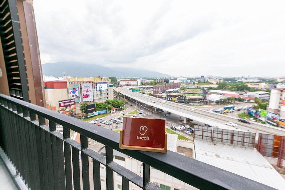 View from Room, Locals Prio ChiangMai Central Airport Plaza