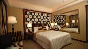 Down duvets, pillow-top beds, individually decorated