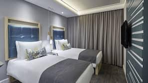 Zimmersafe, kostenloses WLAN, Bettwäsche, Rollstuhlgeeignet