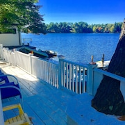 Lake House Winter Discount Near Boston/ Providence on Lake Archer in Wrentham