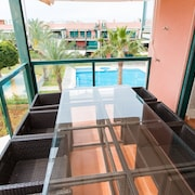 3 Bed Modern Apartment With Pool and Playground Near the Beach