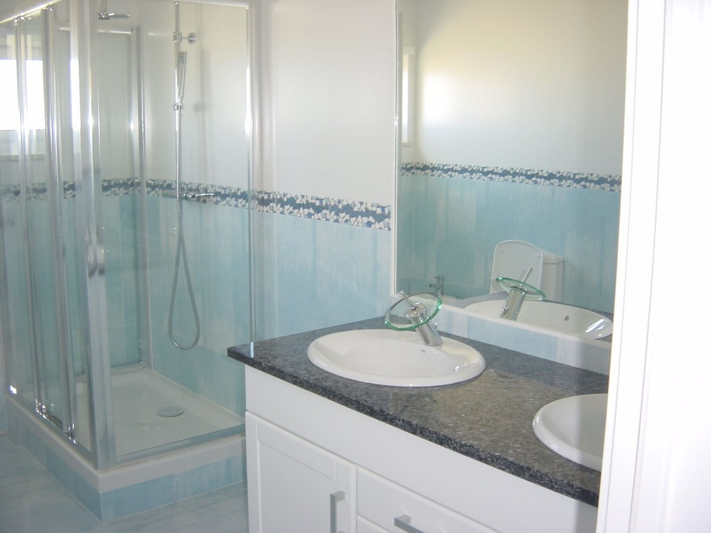 Bathroom, Private Resort With 2 Pools, Football Pitch, Tennis Court