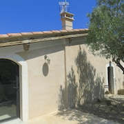 Farmhouse Surrounded by Olive Groves Near Lake Salagou