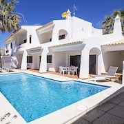 Sesmarias Holiday Home, Sleeps 9 With Pool, Air Con and Free Wifi