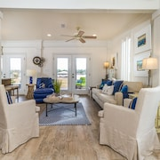 Waterfront Home on Perdido Beach in Elberta With Sandy Beach, Pier & Boat House!