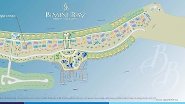 2/2 Condo/great Location/new 40' Boat Slip @ Resorts World Bimini Bay! Free Wifi