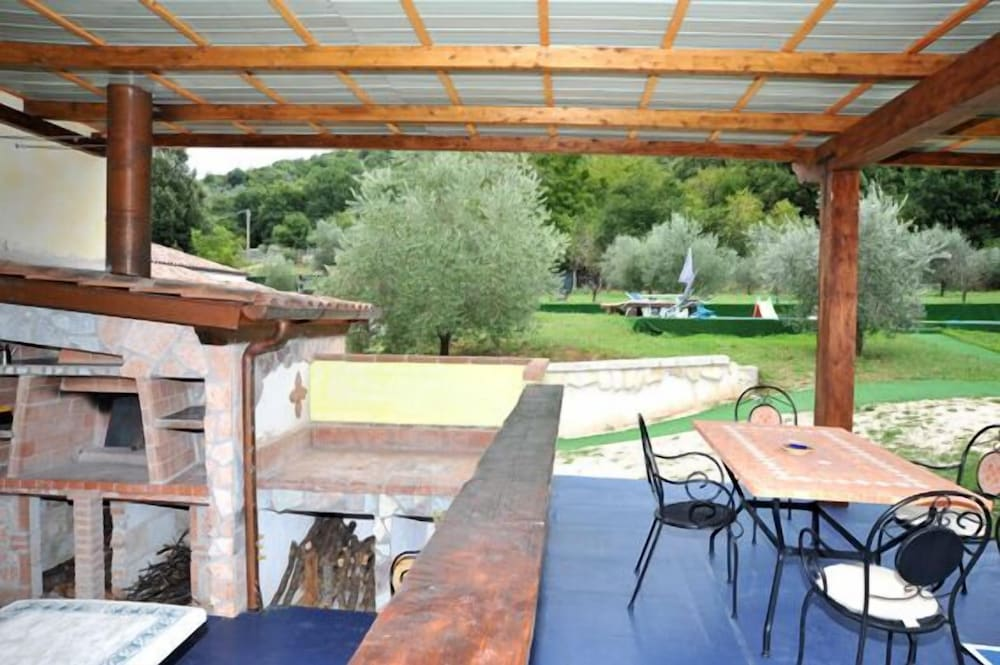 Balcony, Domus Mariae Infinity  Swimming Pool, SPA, Not Shared Near Rome Fiuggi Golf