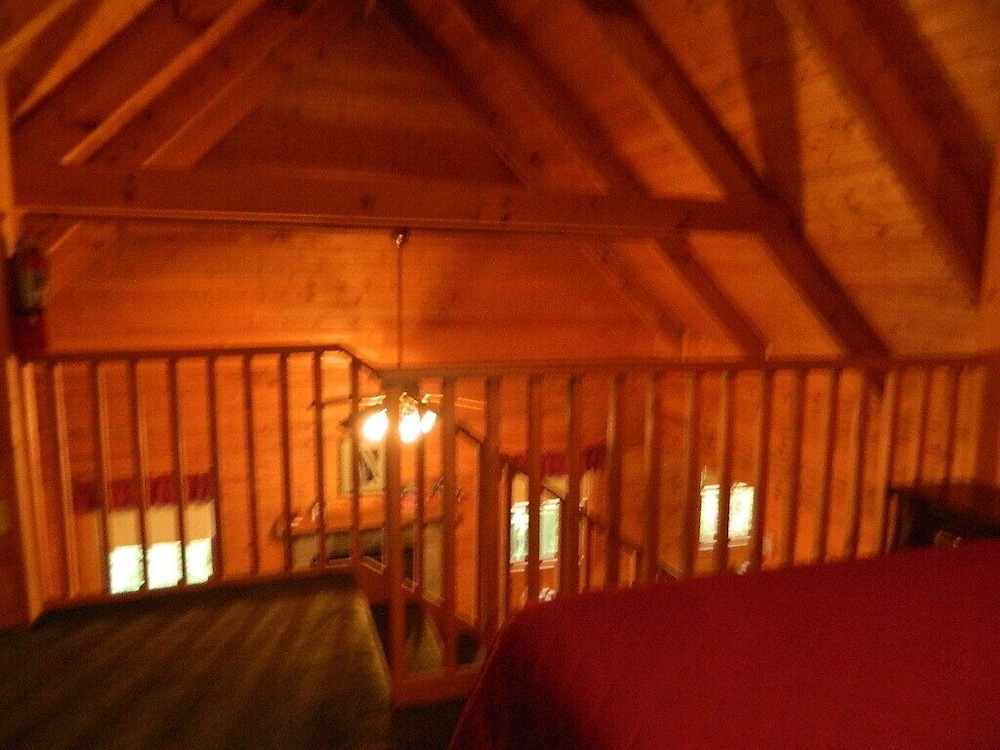 Room, Gatlinburg Log Cabin Rental For Two