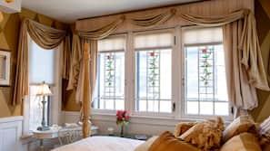 이집트산 면 시트, 고급 침구, 필로우탑 침대, 각각 다른 스타일의 객실