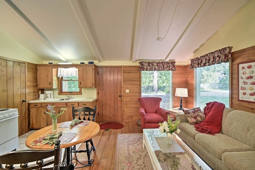 New! Cozy Ephraim Cedar Cottage W/private Deck!