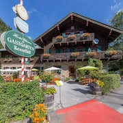 Charlet at the Foot of the Kitzsteinhorn Lift, With Stunning Mountain Views