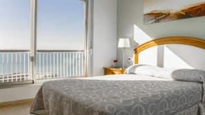 2 slaapkamers, een strijkplank/strijkijzer, gratis babybedden