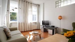 1 Schlafzimmer, individuell dekoriert, Bügeleisen/Bügelbrett