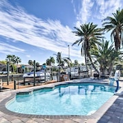 Tropisches Waterfront Florida Pool Home mit Dock-bring Dein Boot !!!