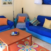 House With 3 Bedrooms in Moncarapacho, With Wonderful sea View, Enclosed Garden and Wifi - 2 km From the Beach