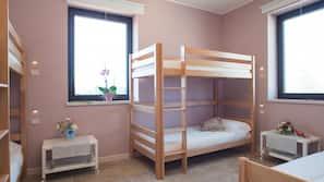 婴儿床(额外收费)、免费 WiFi、床单、方便轮椅进出