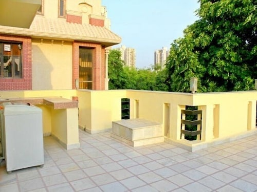 Terrace/Patio, Olive Serviced Apartments Gurgaon