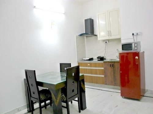 Private Kitchen, Olive Serviced Apartments Gurgaon