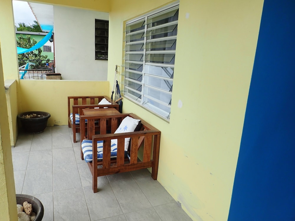 Terrace/Patio, The Vieques Guesthouse