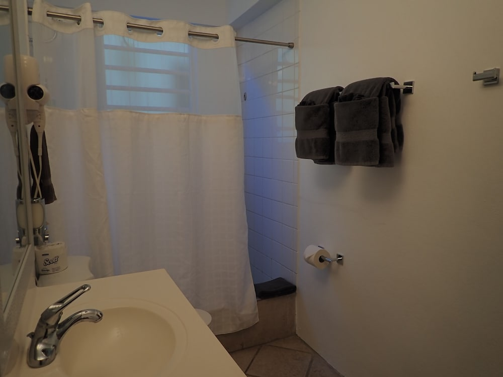 Bathroom Shower, The Vieques Guesthouse