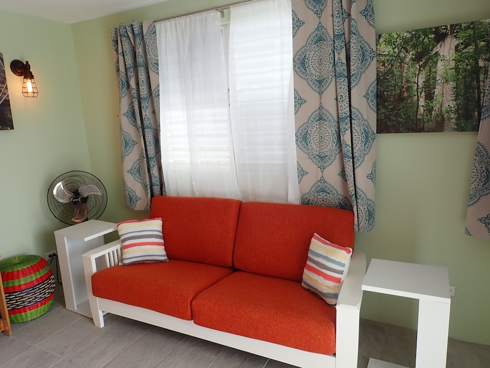 Living Area, The Vieques Guesthouse