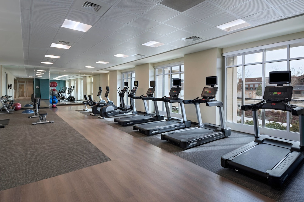 Fitness Facility, Courtyard by Marriott Jackson Madison