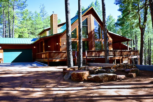 Check Expedia for Availability of Beautiful Forest Lakes Cabin With a Huge Deck, Beautiful Great Room-great Value