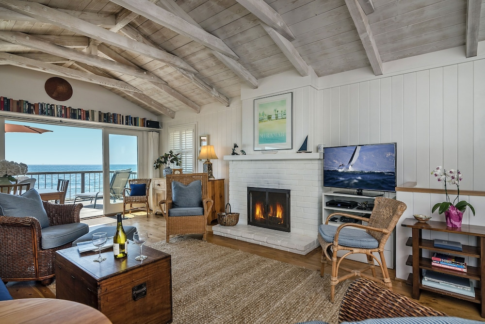 Outstanding Beach Front Cottage On Miramar Beach In Santa Barbara Ca Complete Home Design Collection Epsylindsey Bellcom