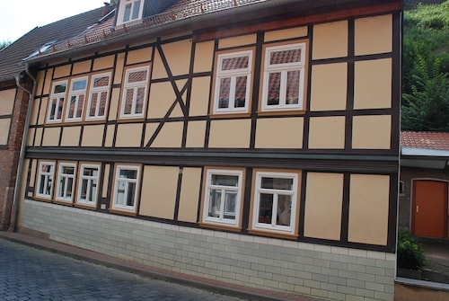 Large, Newly Renovated Half-timbered House With Garage, Pets Welcome