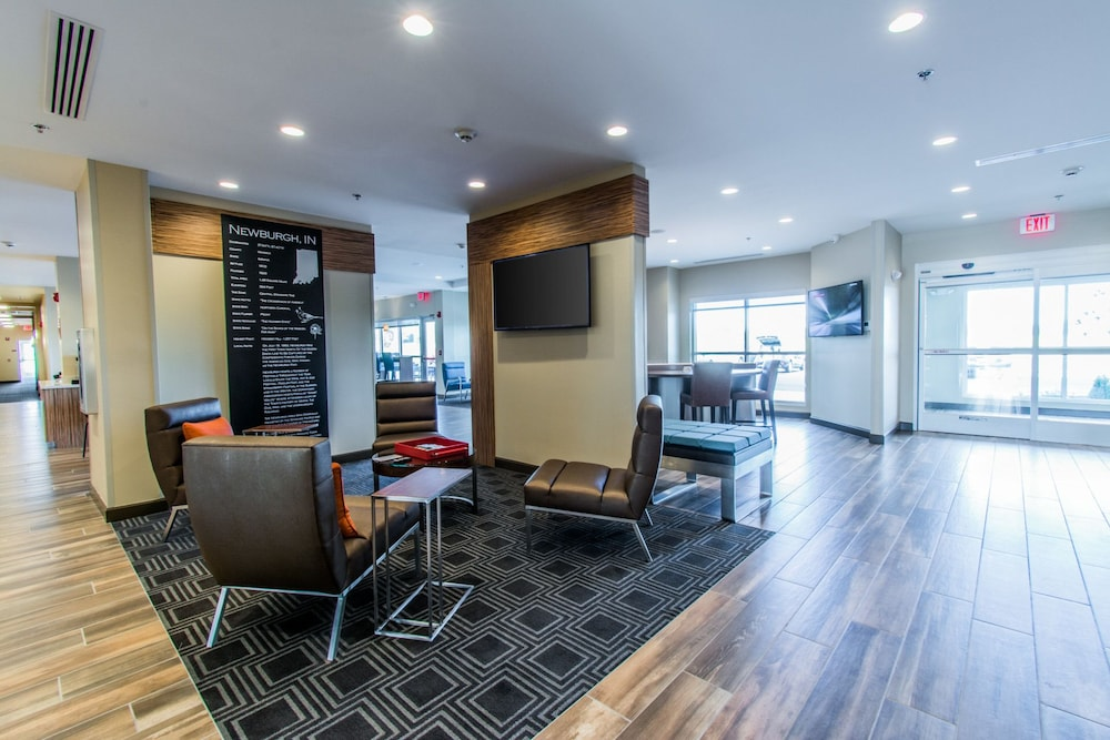 Lobby Sitting Area, Towneplace Suites by Marriott Evansville Newburgh
