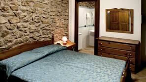 1 camera, una scrivania, Wi-Fi gratuito, lenzuola