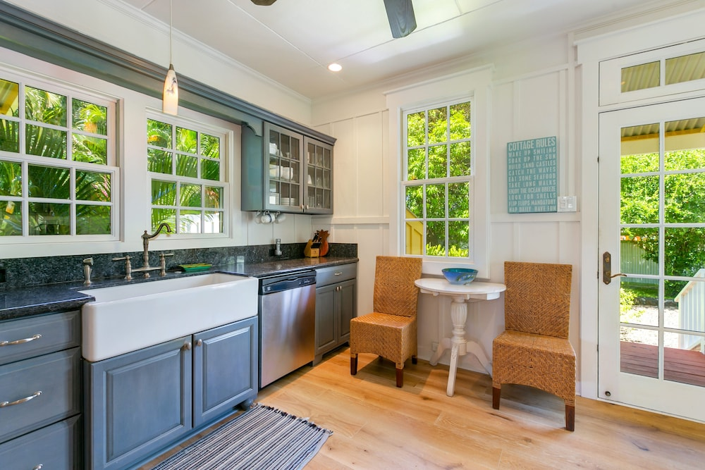 Private Kitchen, Delightful Plantation Cottage Steps From Beach 100% Refund for 14day Restriction